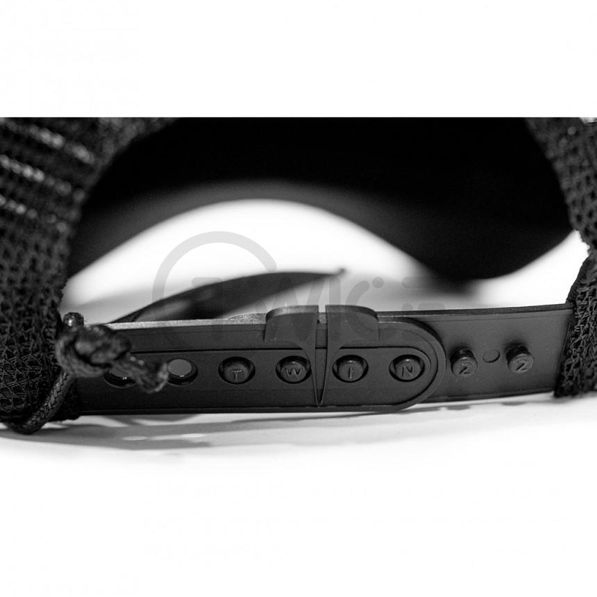 Černá kšiltovka Twinzz Rockland Rip& Repair