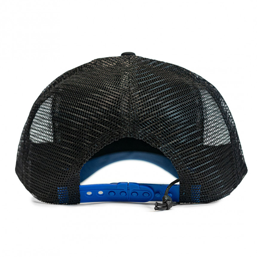 Černá kšiltovka Twinzz Tricolor Black/ Blue