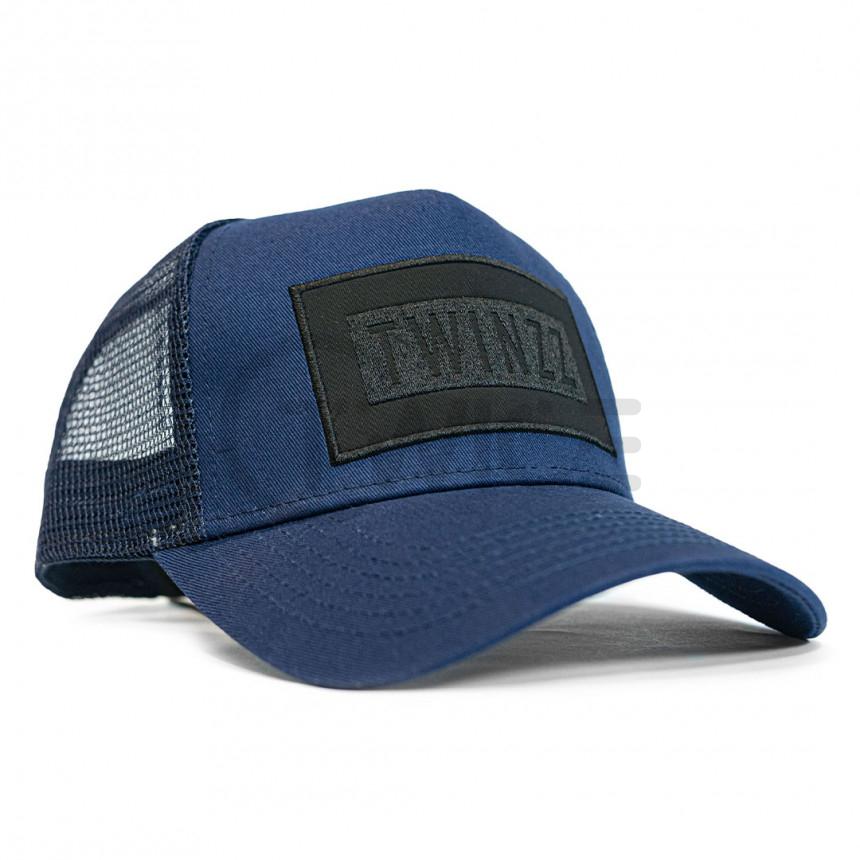 Modrá kšiltovka Twinzz Box trucker