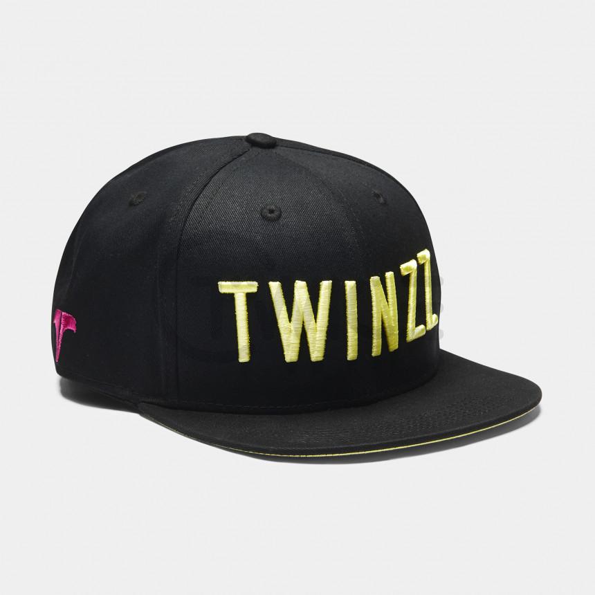 Černo žlutý snapback Twinzz