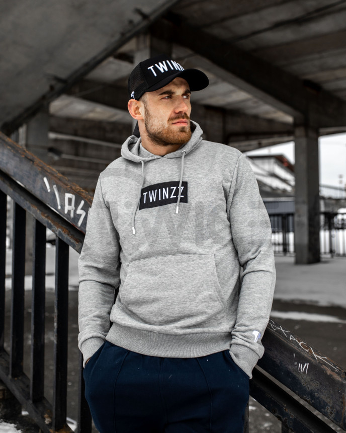 Azzuro Hood Set Grey