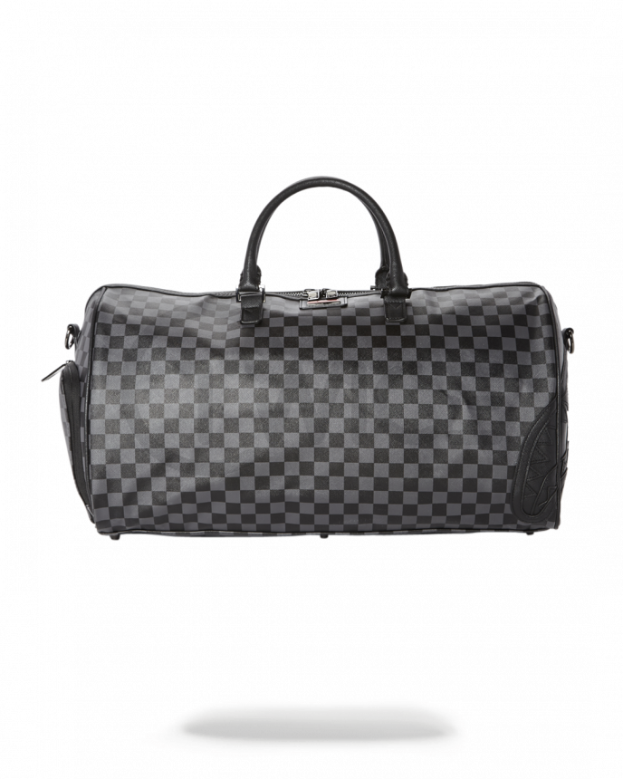 Taška Sprayground Henney Black Checkered Duffle
