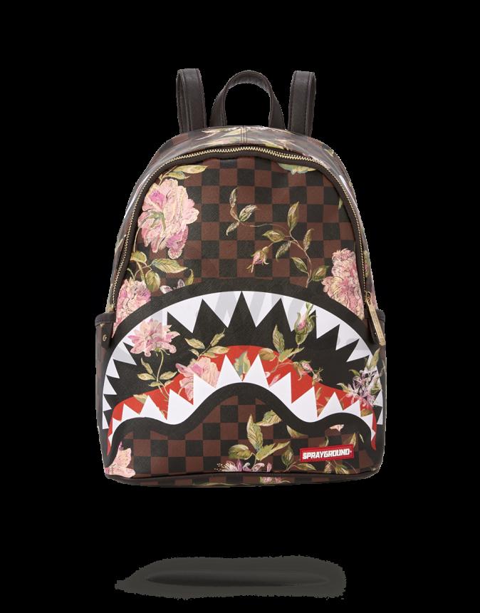 Batoh Sprayground Shark Flower Savage