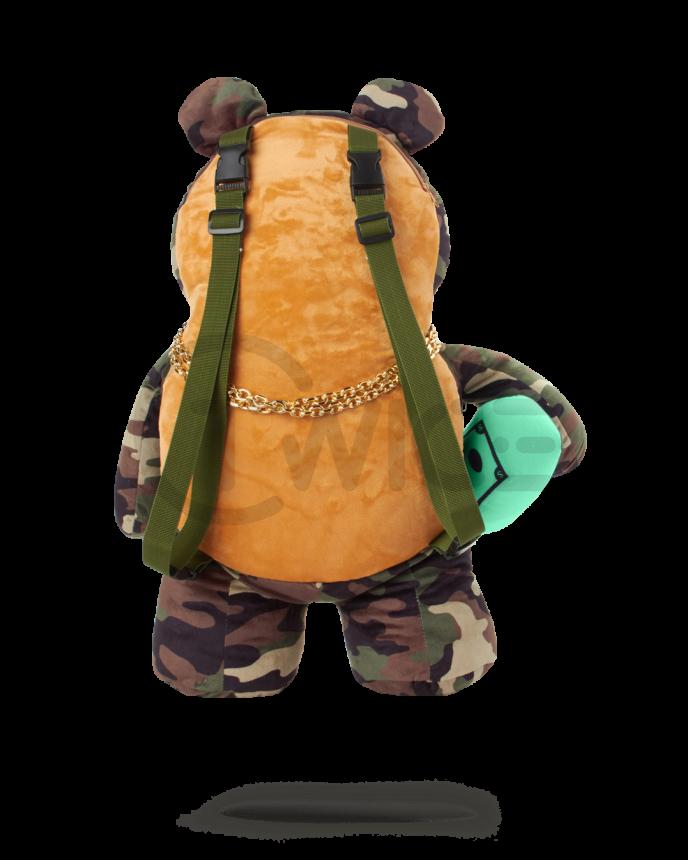 Batoh Sprayground TED Money Bear Camo Backpack
