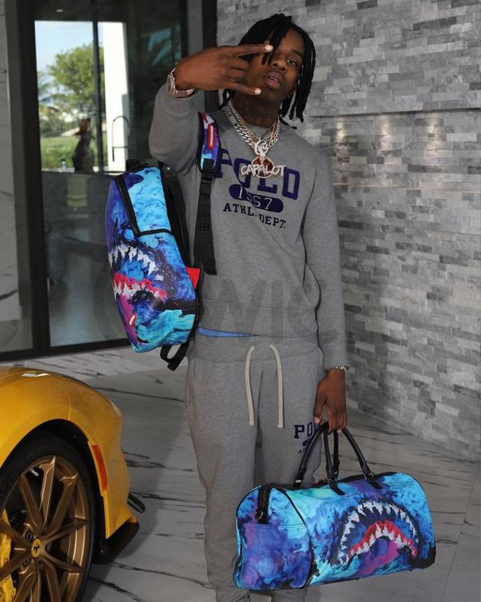 Batoh Sprayground Color Drip Backpack