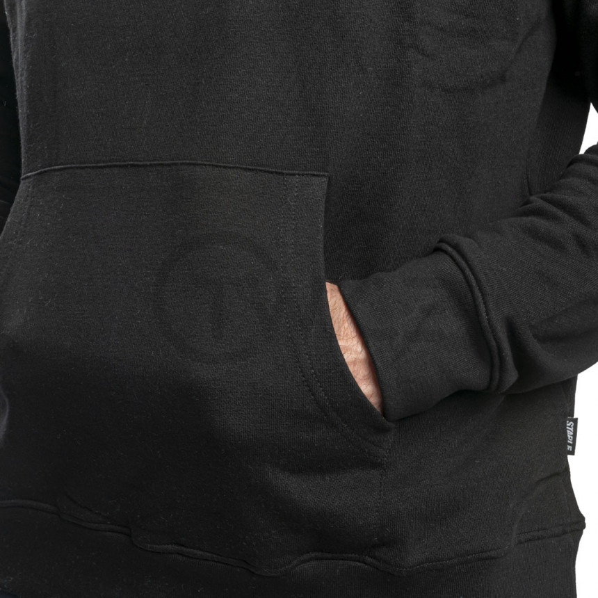 Černá mikina Staple Pigeon Collegiate hoodie