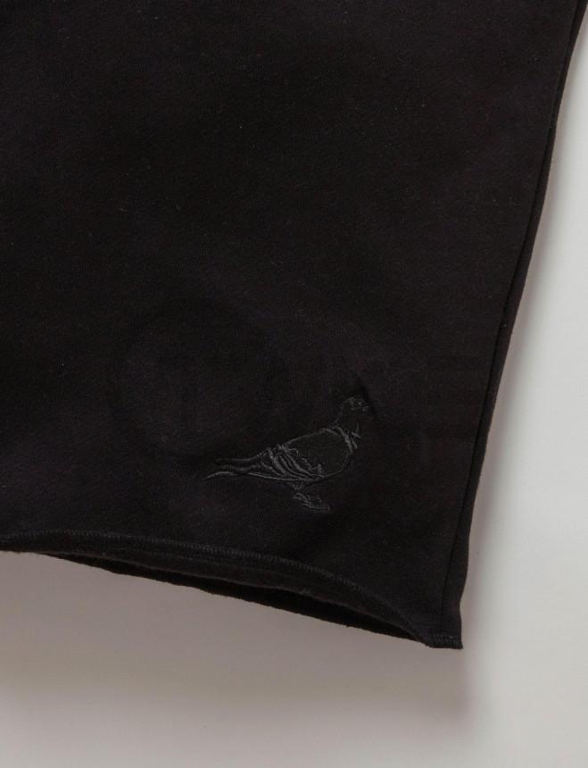 Černé kraťasy Staple Pigeon Garment Sweatshort