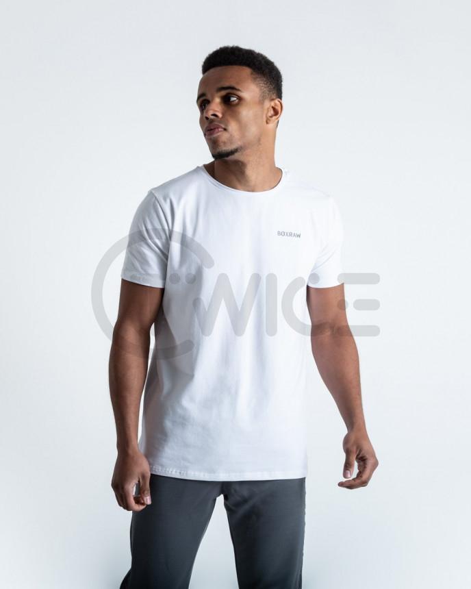 Bílé tričko Boxraw Logo T-shirt