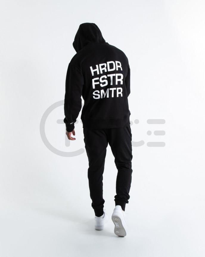 Černá mikina Boxraw HFS Hoodie