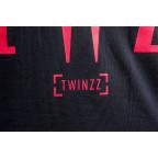 Modré tričko Twinzz Rossi