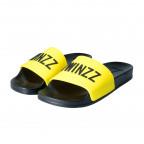 Žluté pantofle TWINZZ Positano Slide