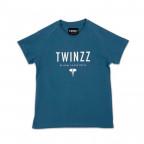 Dámské modré tričko Twinzz Active Our World Graphic tee
