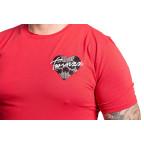 Červené tričko Twinzz Raza Skullheart