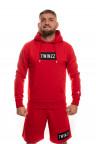 Červená mikina Twinzz Azzuro