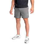 Pánské šedé sportovní kraťasy Twinzz Lunge Active short