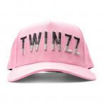 Růžová kšiltovka TWINZZ Gradient