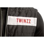 Černá vesta Twinzz ROSELLI