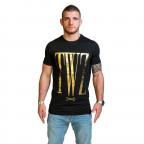 Černé tričko TWINZZ Rossi Black Gold