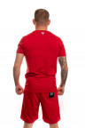 Červené tričko Twinzz Azzuro