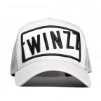 Šedá kšiltovka Twinzz ASHVILLE trucker