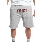 Šedé kraťasy Twinzz Warm up