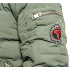 Twinzz bomber jacket green