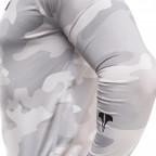 Maskáčové kompresní triko s dlouhým rukávem