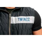 Tmavě modrá vesta Twinzz ROSELLI