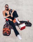 Batoh Sprayground Fire Shark Backpack