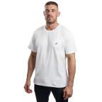 Bílé tričko Staple Pigeon Mini pocket Tee