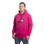Růžová mikina Staple Pigeon Logo Hoodie