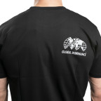 Černé tričko Staple Pigeon Global Dominance